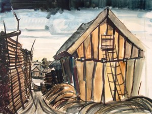 Erich-Joachim Heymann: Motiv aus Gilge