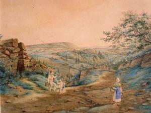unbekannt-blick-in-eine-weite-bewaldete-landschaft-mit-weinbergen-und-personen