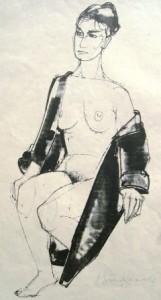 heinrich-burkhardt-sitzender-weiblicher-akt-im-morgenmantel-galerie