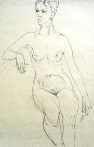 heinrich-burkhardt-sitzender-weiblicher-akt-nach-links-galerie