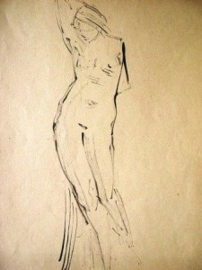 kurt-ruebner-zugeschrieben-stehender-weiblicher-akt-galerie
