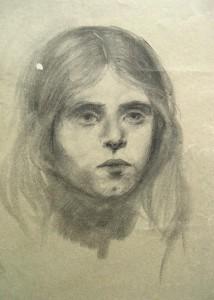 franz-eversheim-zwei-portraits-eines-maedchens