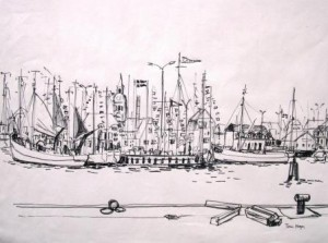 tom-hops-kleiner-hafen-mit-fischerbooten-galerie