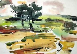curt-wittenbecher-landschaftsstudie-hitzacker-galerie