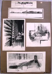 Hermann Haase: 5 Zeichnungen