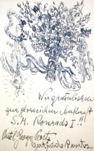 Georg Pevetz: Glückwunschkarte (Galerie)