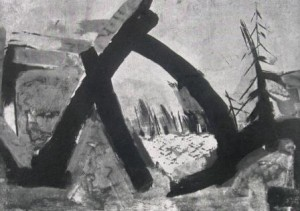 Ingo Kraft: Paul Celan 'Envoi' (Galerie)