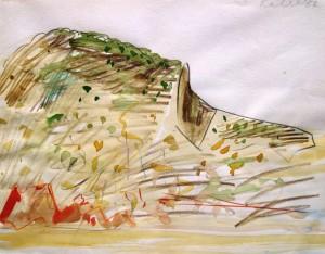 Udo Kaller: Ansicht aus dem Norden Teneriffas