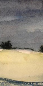 Ferdinand Springer: Imaginäre Landschaft (Provence) (Galerie)