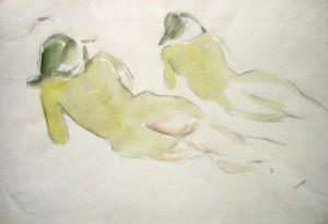 Manfred Steinhardt: zwei liegende weibliche Akte (galerie)
