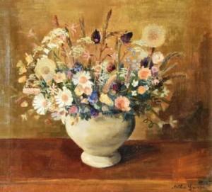 Arthur Grimm: Blumenstillleben (Galerie)