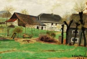 Erich Hartmann: Gehöft (Galerie)