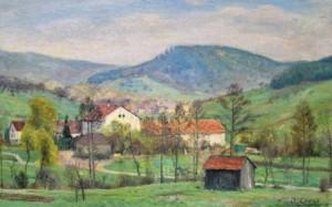 """Otto Gross: """"Bei Murrhardt"""" (Galerie)"""