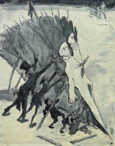 Arpad Schmidhammer: Die Wiederaufrichtung (Galerie)
