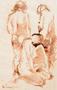 Karl-Ferdinand Winter: Drei weibliche Akte