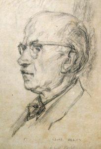 Wolfgang von Websky: Porträt von Willibald Köhler