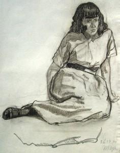 hans-pape-sitzende-Frau-1