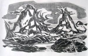 eduard-hopf-berge-in-norwegen-galerie