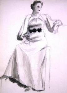 unbekannt-sitzende-dame-in-langem-kleid-galerie