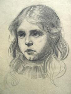 franz-eversheim-zwei-portraits-eines-maedchens-1