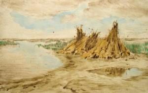 aladar-edvi-illes-aufgestellte-korngarben-in-weiter-landschaft-galerie
