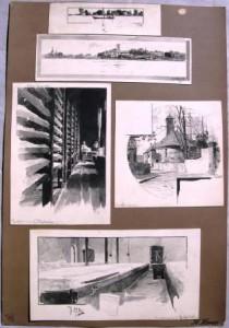 Hermann Haase: 5 Zeichnungen (Galerie)
