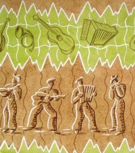 Kurt Guggenheimer: Darstellung eines Musik-Quartetts (Galerie)