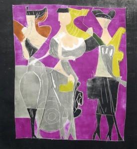 Walter Becker: Drei Frauen