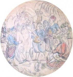 Unbekannt: orientalischer Sklavenmarkt (Galerie)
