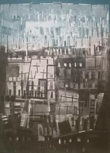 """Ingo Kraft: """"Giuseppe Ungaretti: 'Für die Toten des Widerstands'"""" (Galerie)"""