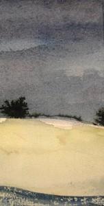 Ferdinand Springer: Imaginäre Landschaft (Provence)