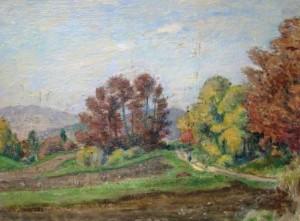 Otto Gross: Weg am Waldrand (galerie)