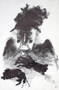 Helmut Diekmann: Darstellung einer alten Frau bzw. einer älteren Witwe (Galerie)