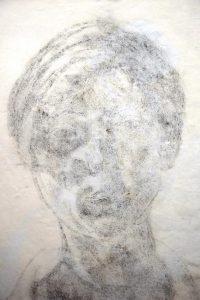 Paula Wimmer: Sitzende Frau 2