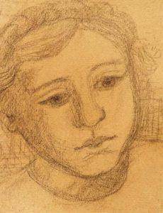 """Käthe Schmitz-Imhoff: """"Bauernmädchen"""" (Galerie)"""