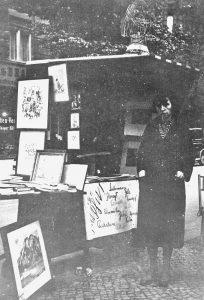 Jeanne Mammen im Jahre 1933 (© Förderverein der Jeanne-Mammen-Stiftung e.V.)